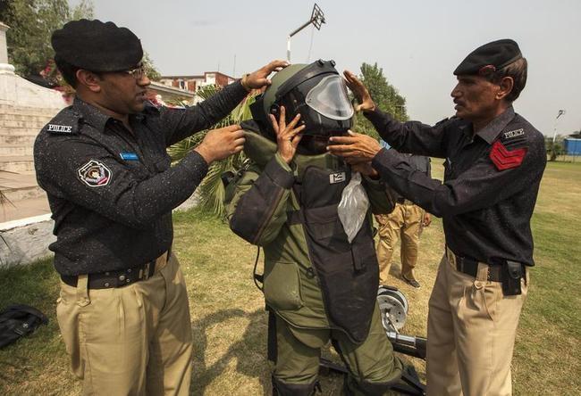 A technician from Pakistan