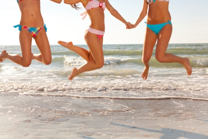 Workouts: 20 Best Beach Workouts for Fitness High Jumps