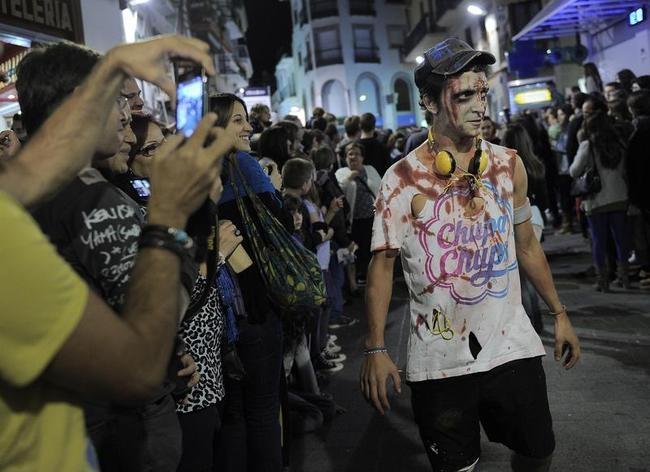Zombie Walk in Spain