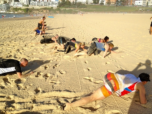 Workouts: 20 Best Beach Workouts for Fitness Crawls