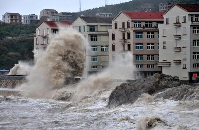 CHINA-TYPHOON-FITOW