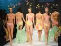 Sultry Models At Shanghai Mode Lingerie