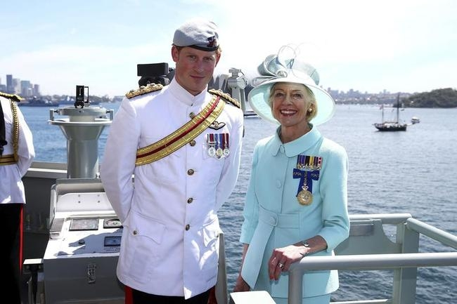 Prince Harry, Quentin Bryce