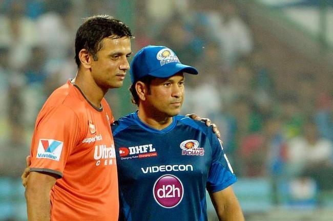 Tendulkar and Dravid