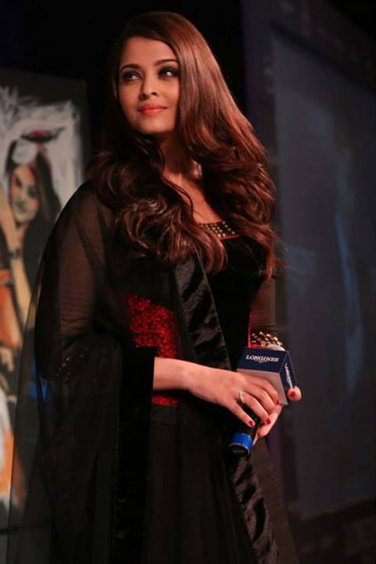 Aishwarya Rai Bachchan at a promotional event.