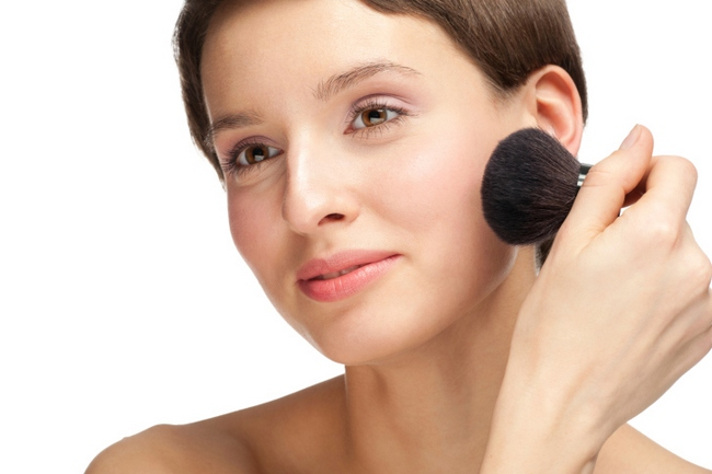 If you have any skin imperfections, apply concealer on blemishes and spots.