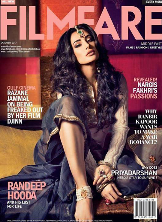 Flaunting her carefree side, Nargis Fakhri scorches the cover with utter flourish.