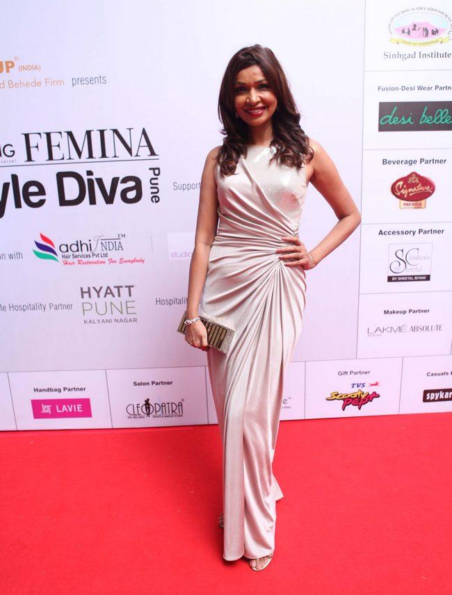 Fashion choreographer Achla Sachdev also attended Femina Style Diva Pune.