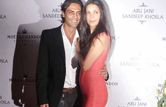 Arjun Rampal and Mehr Jesia