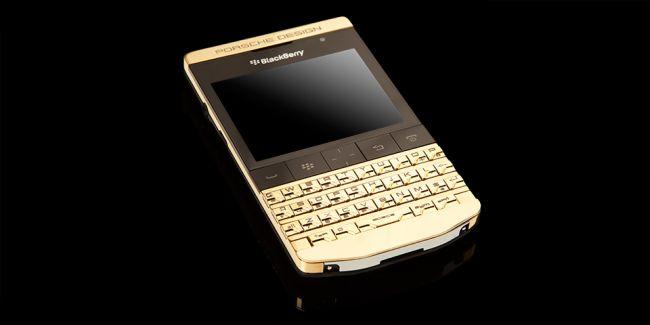 BlackBerry Porche Gold