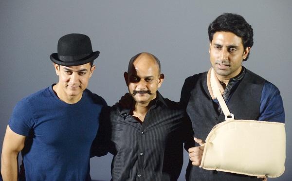 Aamir Khan, Vijay Krishna Acharya, Abhishek Bachchan