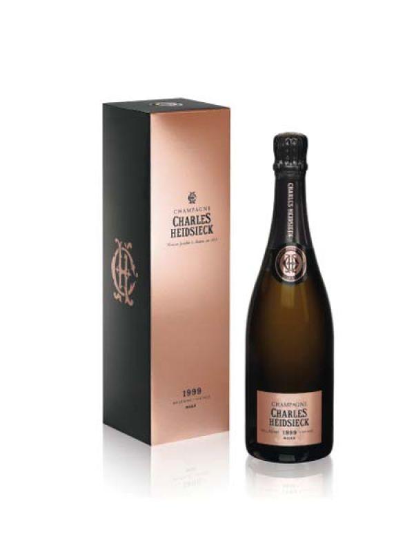 Rose  Champagne Charles Heidsieck Rosé Millesime 1999