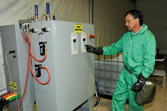 Chemical Weapons Neutraliser