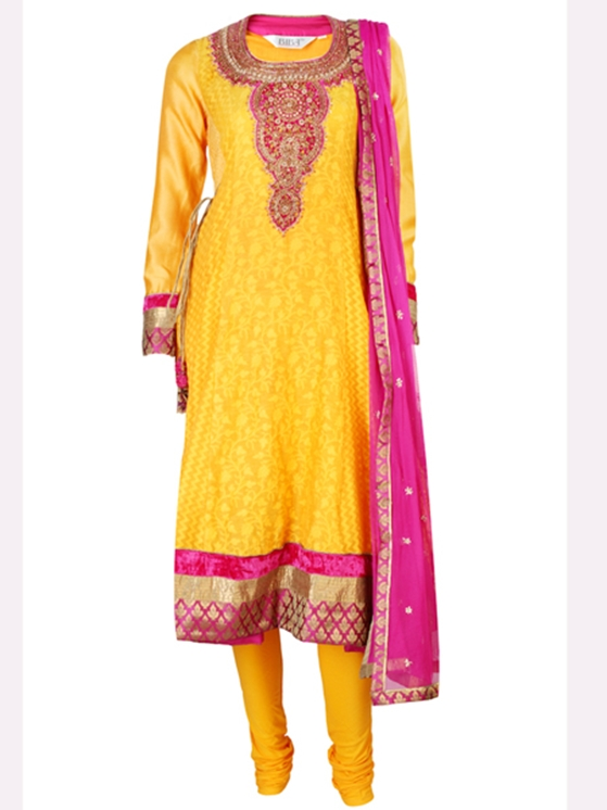 What: Churidaar kurti