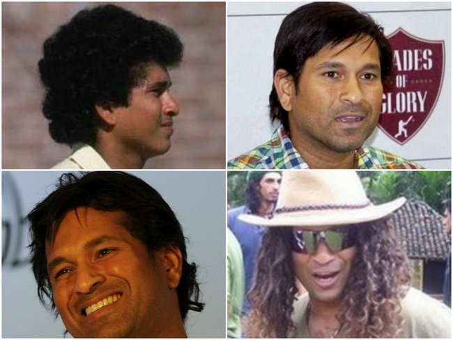 Sachin Tendulkar's retirement news has made us quite nostalgic. Here, we revive the nostalgia by reminiscing about the maestro's famous hairstyles over the years.