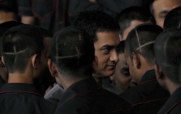 Aamir Khan for Ghajini