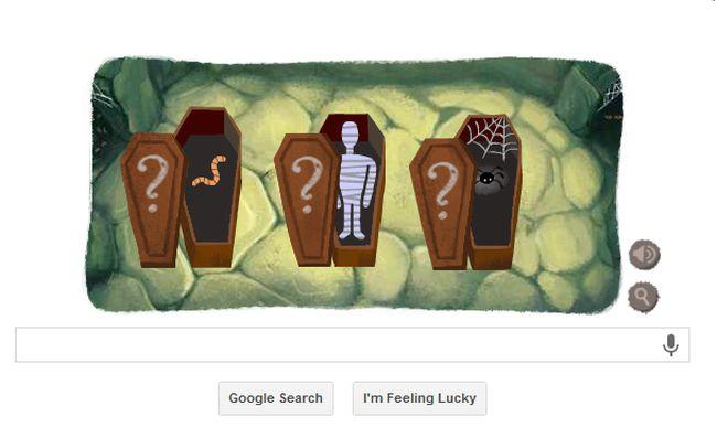 Google Halloween Doodle