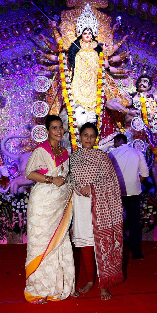 Kajol and Sharbani Mukherjee