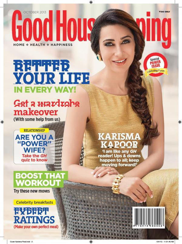 Karisma Kapoor - Good Housekeeping