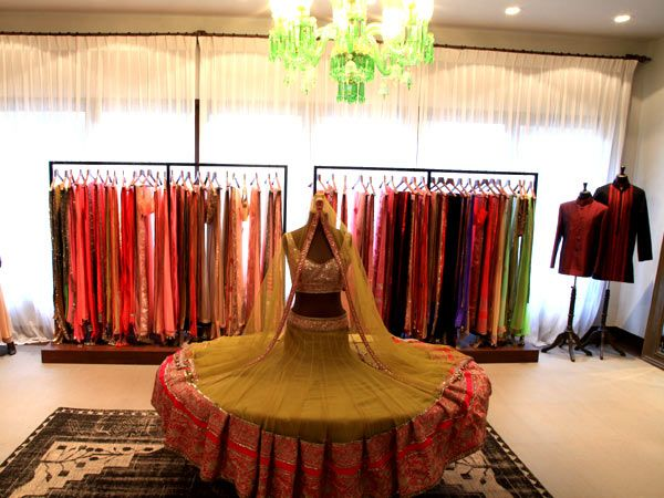 On closer look at the garments, tradition stares right back at you what with some gorgeous Kashmiri, chikankari and phulkari work, all of which are a common sighting in most Manish Malhotra collections.  You can revel in the familiarity of your favourite designer, or celebrate the new diffusion line exclusive to this store; either way, we reckon a visit is in the offing.  Manish Malhotra, Shivraj Heights, Corner of 14th Road & Linking Road, Next To Raj Kumar Jewellers, Khar West, Mumbai—400052.Source: LuxpressoAlso see: World's Most Expensive Pair of Platinum Heels