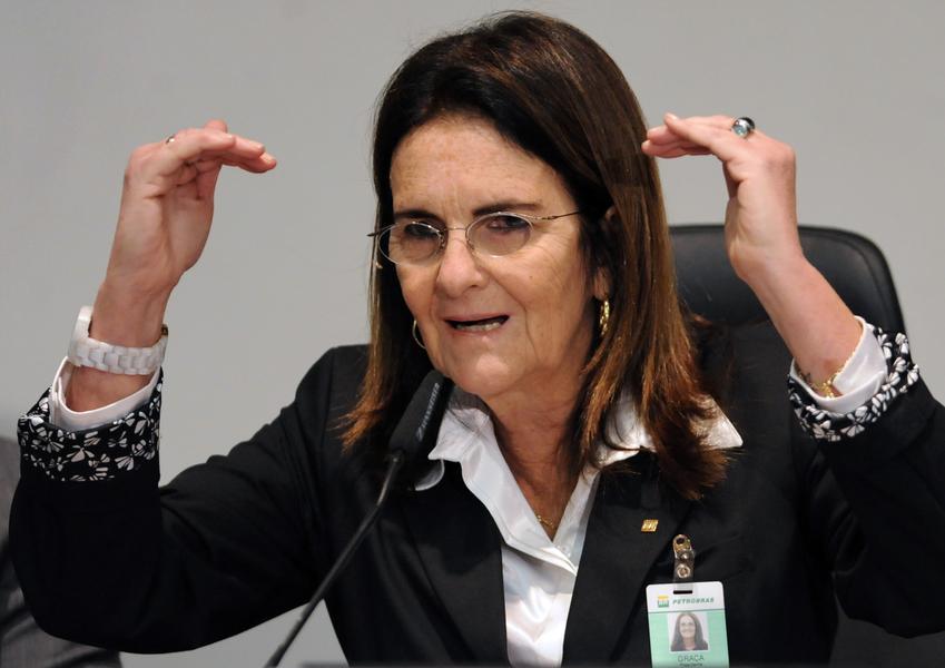 Brazilian energy giant Petrobras' CEO, Maria Das Gracas Foster tops the list