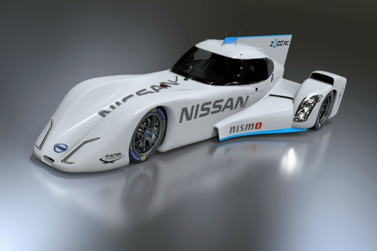 After an intense eight months of development, design and construction, the Zero Emissions on Demand racer has gone from zero to ZEOD. Source: Nissan