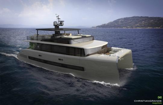 Yacht designer Christian Grande, and Italian actor Pierfrancesco Favino designed a 'dream' boat. Source: Picchio Boat and Christian Grande