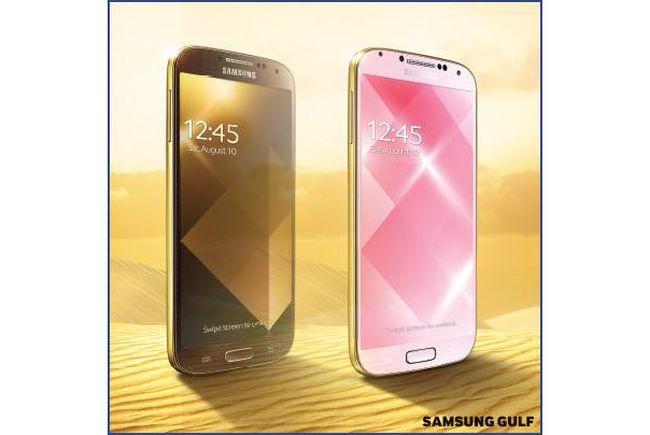 Samsung Galaxy S4 Gold