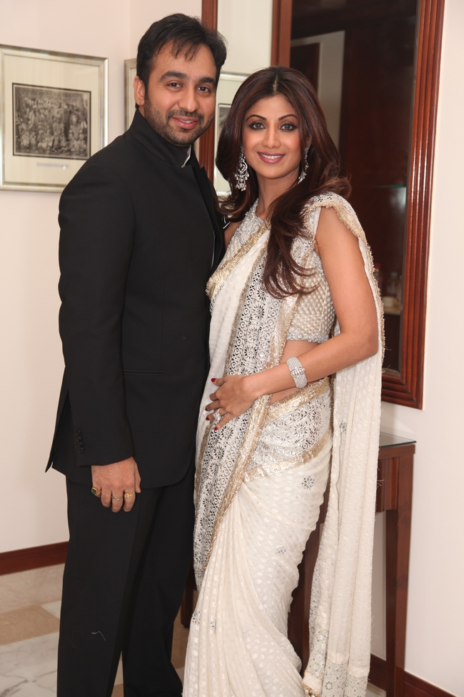 Shilpa Shetty at her traditional best.