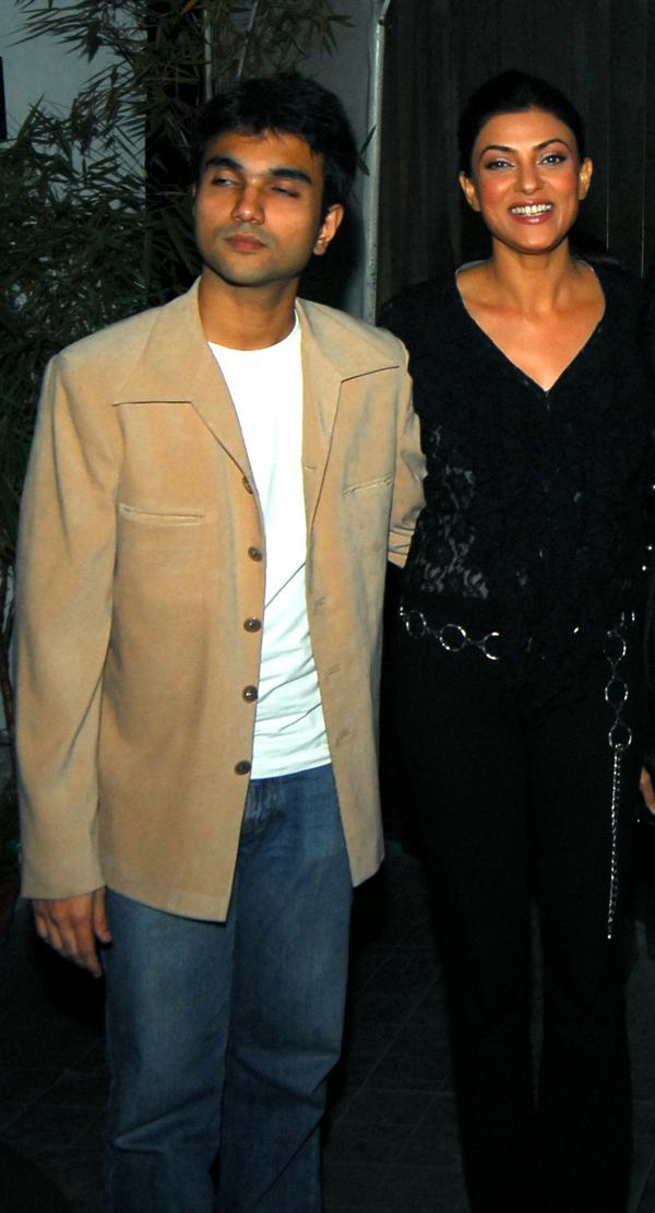 Sushmita Sen and Mudassar Aziz