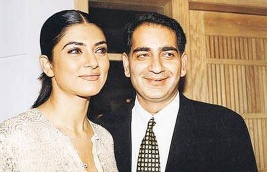 Sushmita Sen and Sanjay Narang