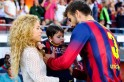 Shakira, Gerard Pique, Milan at Camp Nou