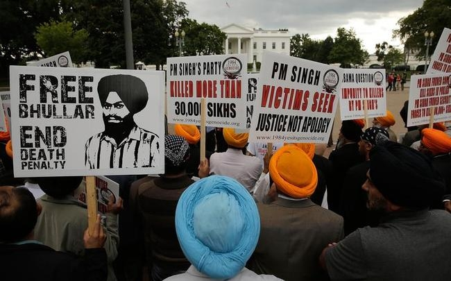 Sikh protests in US