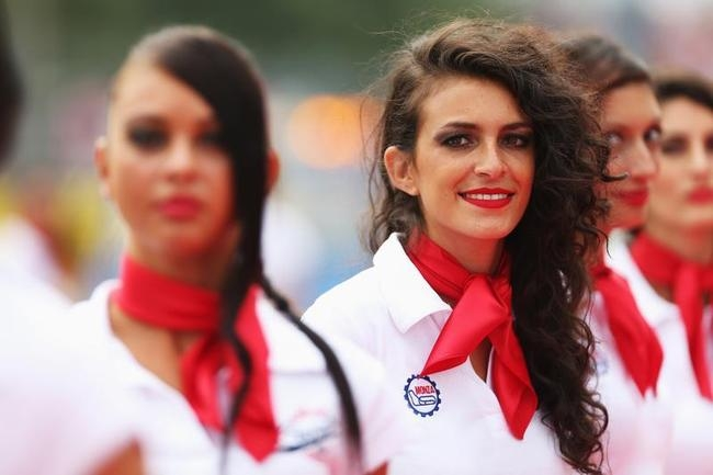 Grid Girls at Italian Grand Prix