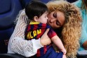 Shakira and Milan at Camp Nou