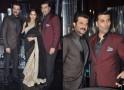 Anil Kapoor, Madhuri Dixit, Karan Johar