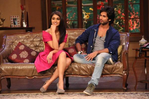 Shahid Kapoor and Ileana D