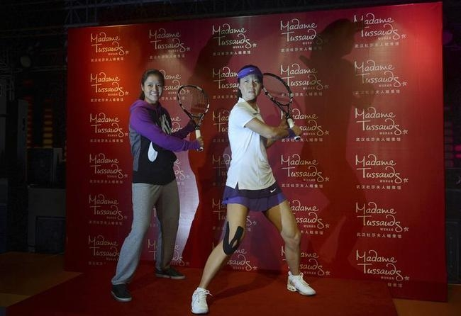 Li Na Waxed At Madame Tussauds