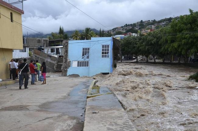 Floods submerge Mexico