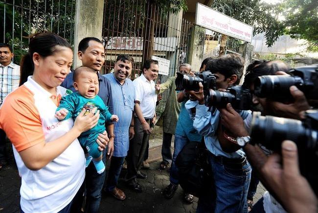 Mary Kom and Prince in Mumbai