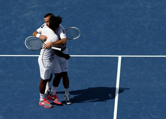 Radek Stepanek and Leander Paes