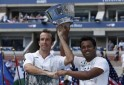 Paes-Stepanek Win Men's Doubles