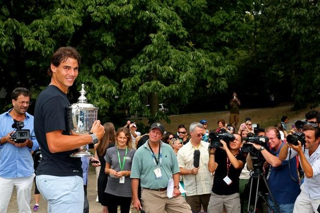 Rafael Nadal - New York City Trophy Tour