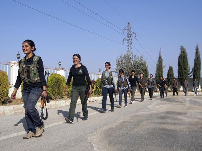The Kurdish Women