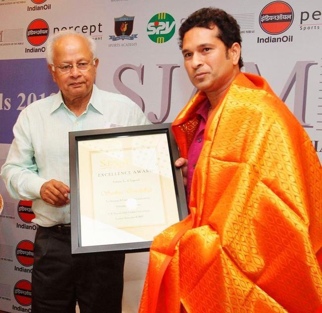 Sachin Tendulkar Felicitated By SJAM