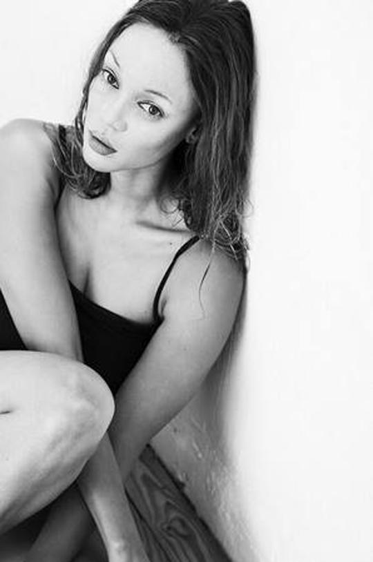 Tyra as Kate Moss
