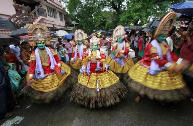 IN PICS: Onam Celebrations