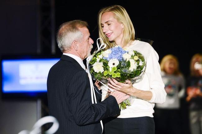 Wilfried Meert and Svetlana Shkolina