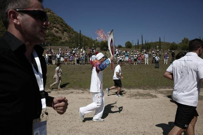 Winter Olympic Torch
