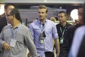 David Beckham at Singapore GP